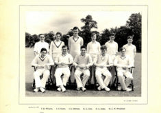 Hertford Grammar School 2nd XI Cricket Team 1955