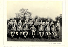 Hertford Grammar School Colts XV Rugby Team, 1956