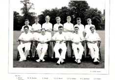 Hertford Grammar School Colts XI Cricket Team, 1956