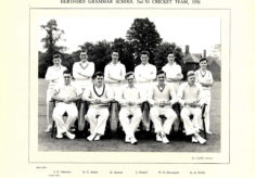Hertford Grammar School 2nd XI Cricket Team, 1956