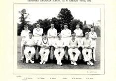 Hertford Grammar School 2nd XI Cricket Team, 1956
