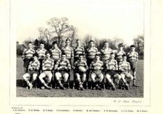 Hertford Grammar School 1st XV Rugby Team, 1956