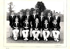 Hertford Grammar School 1st XI Cricket Team, 1956