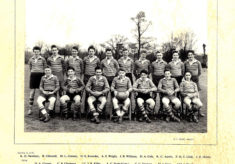 Hertford Grammar School Colts XV Rugby Team, 1957