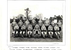 Hertford Grammar School 1st XV Rugby Team 1957
