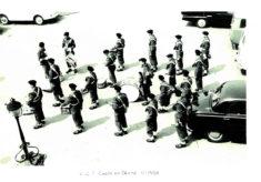 Hertford Grammar School CCF Corps of Drums, circa 1958