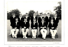 Hertford Grammar School 1st XI Cricket Team, 1958