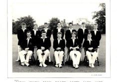Hertford Grammar School 1st XI Cricket Team, 1958
