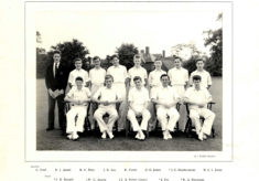 Hertford Grammar School Colts Cricket Team, 1958