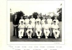 Hertford Grammar School Colts Cricket Team, 1958