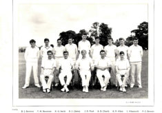Hertford Grammar School 2nd XI Cricket Team, 1959
