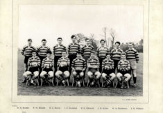 Hertford Grammar School 1st XV Rugby Team, 1959