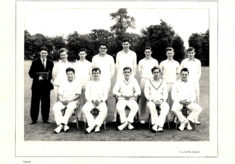 Hertford Grammar School 2nd XI Cricket Team, 1960