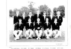 Hertford Grammar School 1st XI Cricket Team, 1960