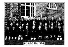 Hertford Grammar School Form II 4, 1960