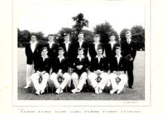Hertford Grammar School 1st XI Cricket Team, 1961