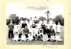 Hertford Grammar School, Hale House Athletics Team, 1962