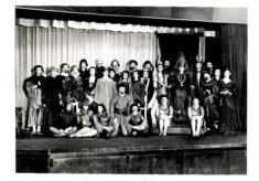 Hertford Grammar School, Cast of Play, circa 1962