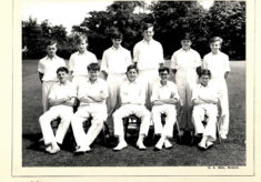 Hertford Grammar School Colts Cricket Team 1964