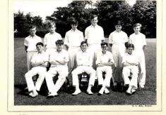 Hertford Grammar School Colts Cricket Team 1964