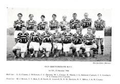 Old Hertfordians R.F.C. 1st XV, 22nd October  1966