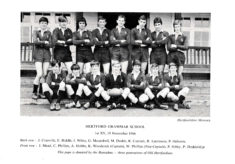 Hertford Grammar School 1st XV, 19th November 1966