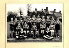 Hertford Grammar School Colts XV circa 1950