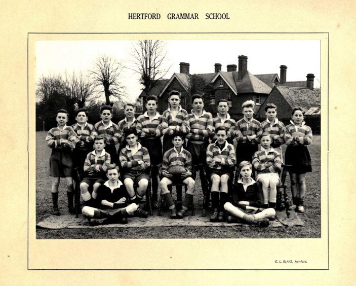Hertford Grammar School Colts XV circa 1950   Richard Hale School Archive