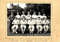 Hertford Grammar School 1st XI Cricket Team, 1951