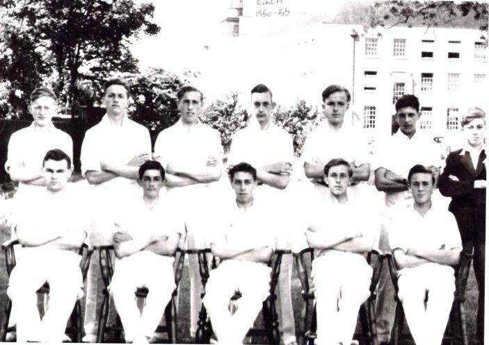 Hertford Grammar School Cricket Team, circa 1951-55 | Richard Hale School Archive