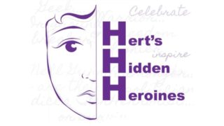 Image Of The Hertfordshire Hidden Heroines Project Flyer | Copyright Joanna Scott, Illustrator.