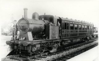 'Ivatt' GNR Motor Coach No.5 in 1924 | Hertfordshire Archives and Local Studies