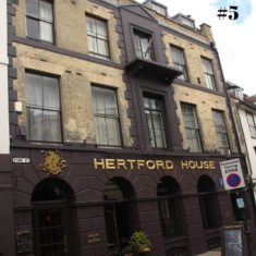 1 Fore Street, the location of Stephen Austin's Hertfordshire Mercury offices (No. 5) | Hakan Akin