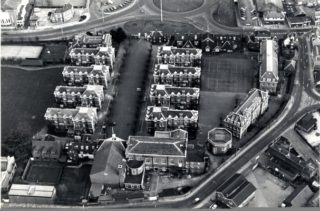 Aerial photograph of Christ's Hospital School | Veronica Humphreys