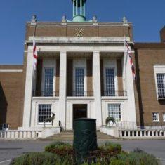 Main entrance to County Hall | Richard Brockbank