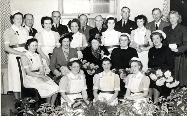 A prize giving group