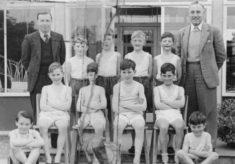 Morgan's Walk School, Hertford, Photo from 1954