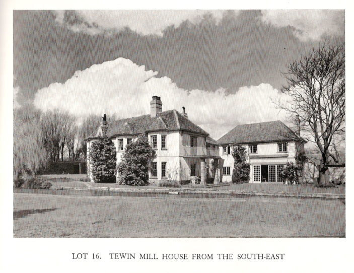 THE MILL HOUSE, TEWIN - Lot 16 | Hertfordshire Archives and Local Studies