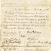 Petition from Hertford and North Herts re the abolition of slavery, 1830