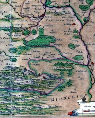 Bishops Hatfield area of the map | Hertfordshire Archives and Local Studies