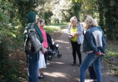 Memories of Ware, a local history walk on a sunny September afternoon.