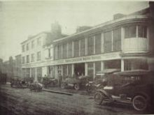 Arthur Elsden's former home in North Road (now redeveloped) at the far left (No. 33) | Hertfordshire Archives & Local Studies (Norris and Duvall collection)