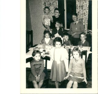 Philip Wright 6th birthday party 1960 | Philip Wright