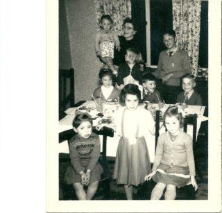 Philip Wright 6th birthday party 1960 | Philip Wright