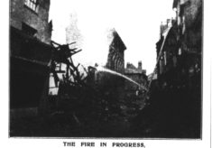 Fire at 6 Maidenhead Street 1917