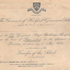 Invite to the opening