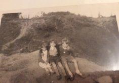 Children in Cecil Road Pits, circ 1958