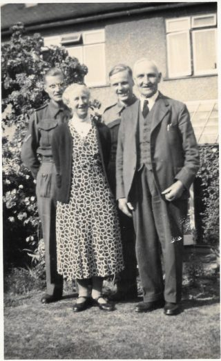Brewster family photograph WW2 | Dianne Brewster