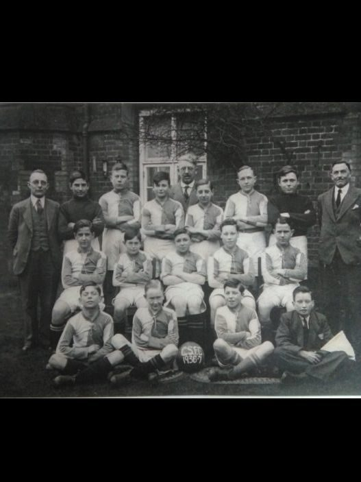 Cowper Testimonial Boys Football Team 1936-37