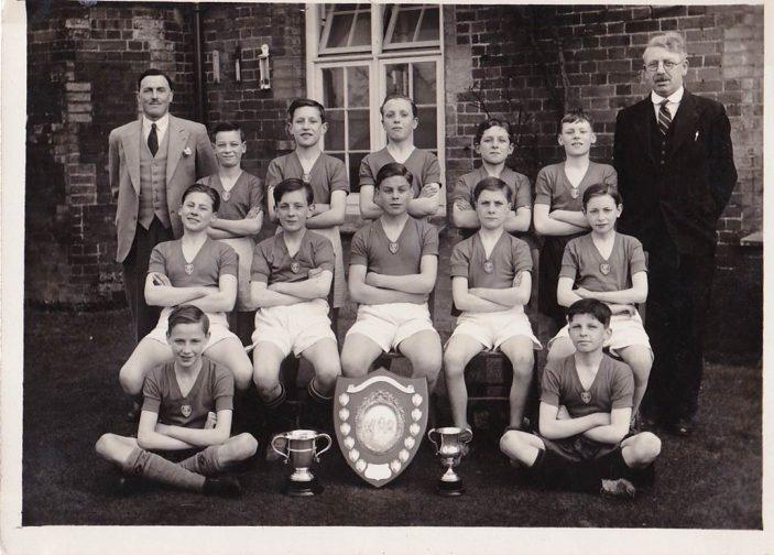 Cowper School Football Team, 1938